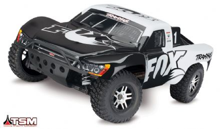 Traxxas 68086-4 Slash Fox 4X4 TSM Brushless - No Battery or Charger